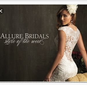 Allure Wedding Gown 9068